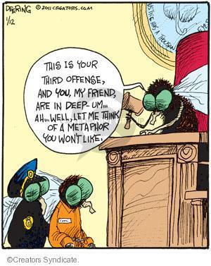 Comic Strip John Deering  Strange Brew 2011-01-12 justice