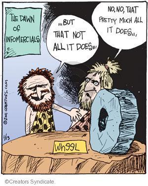 Comic Strip John Deering  Strange Brew 2011-01-13 marketing advertising
