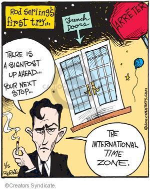 Cartoonist John Deering  Strange Brew 2011-01-15 television cartoon