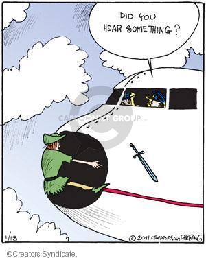 Comic Strip John Deering  Strange Brew 2011-01-18 musical