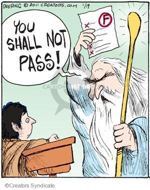 Cartoonist John Deering  Strange Brew 2011-01-19 teacher