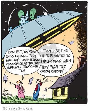 Comic Strip John Deering  Strange Brew 2011-01-27 disagree