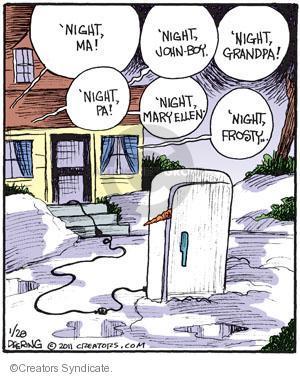 Comic Strip John Deering  Strange Brew 2011-01-28 grandpa