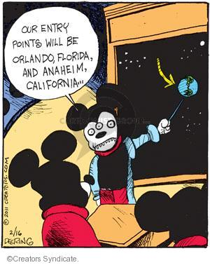Cartoonist John Deering  Strange Brew 2011-02-16 Disney
