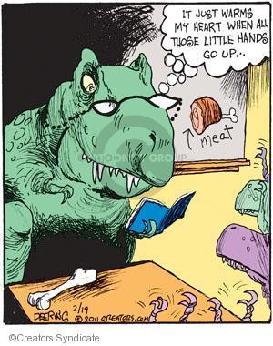 Comic Strip John Deering  Strange Brew 2011-02-19 student teacher
