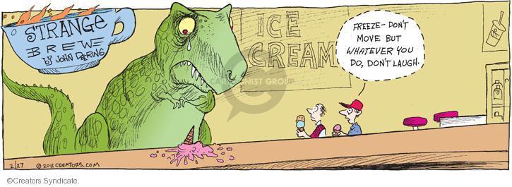 Comic Strip John Deering  Strange Brew 2011-02-27 drop