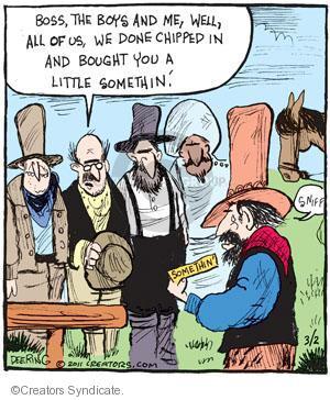 Comic Strip John Deering  Strange Brew 2011-03-02 boy