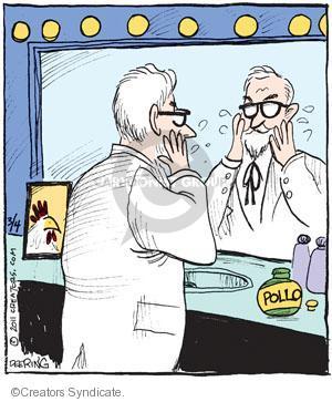 Comic Strip John Deering  Strange Brew 2011-03-04 fast food