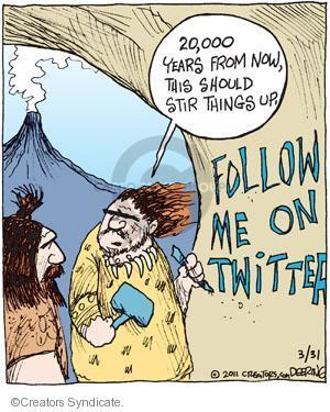 Comic Strip John Deering  Strange Brew 2011-03-31 follow