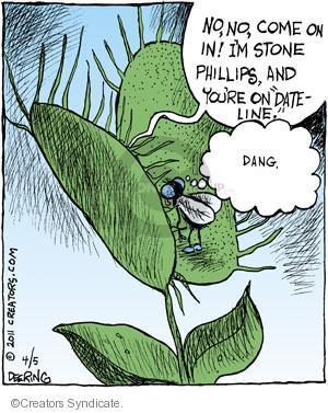 Cartoonist John Deering  Strange Brew 2011-04-05 television cartoon