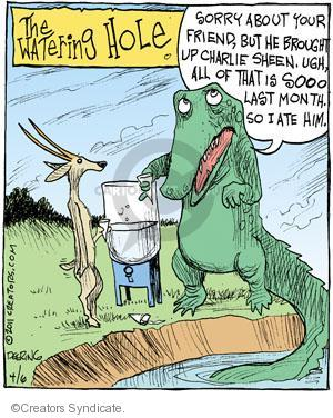 Comic Strip John Deering  Strange Brew 2011-04-06 tabloid media