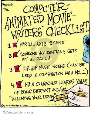 Comic Strip John Deering  Strange Brew 2011-04-16 animated movie