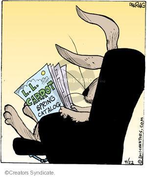 Comic Strip John Deering  Strange Brew 2011-04-22 spring
