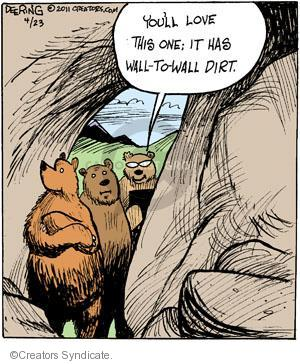 Comic Strip John Deering  Strange Brew 2011-04-23 wildlife