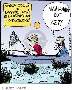 Comic Strip John Deering  Strange Brew 2011-04-26 broadcaster