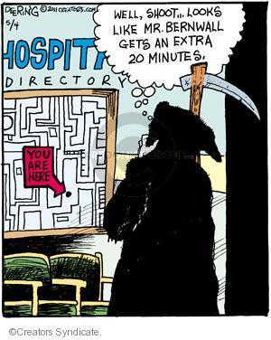 Comic Strip John Deering  Strange Brew 2011-05-04 twenty minutes