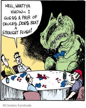 Comic Strip John Deering  Strange Brew 2011-05-05 card
