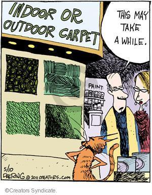 Comic Strip John Deering  Strange Brew 2011-05-10 outdoors