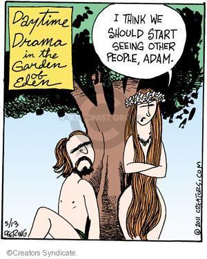 Cartoonist John Deering  Strange Brew 2011-05-13 television cartoon