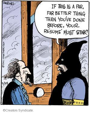 Comic Strip John Deering  Strange Brew 2011-05-24 character