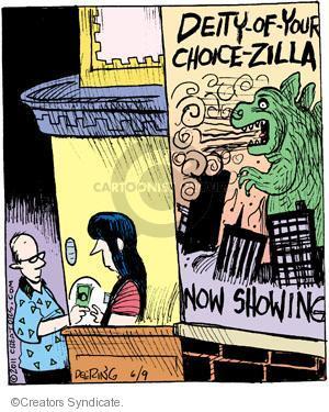 Comic Strip John Deering  Strange Brew 2011-06-09 science fiction movie
