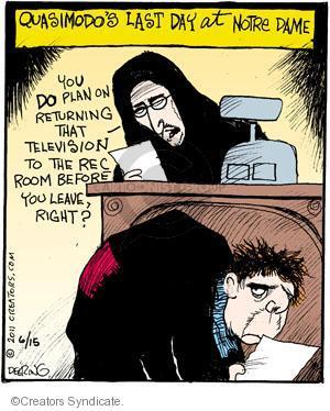 Cartoonist John Deering  Strange Brew 2011-06-15 television cartoon
