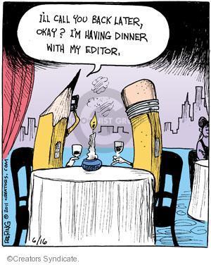 Comic Strip John Deering  Strange Brew 2011-06-16 book editor