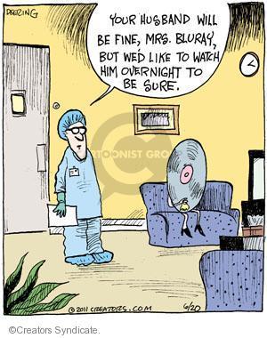 Comic Strip John Deering  Strange Brew 2011-06-20 medical