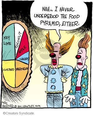 Comic Strip John Deering  Strange Brew 2011-06-21 food pyramid