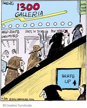 Comic Strip John Deering  Strange Brew 2011-06-25 wild