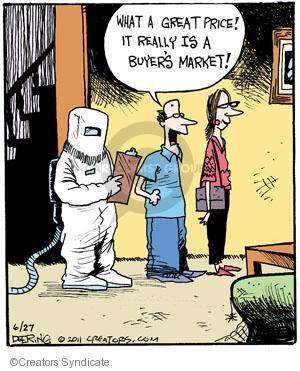 Comic Strip John Deering  Strange Brew 2011-06-27 market