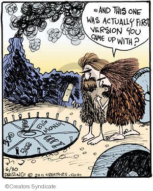 Cartoonist John Deering  Strange Brew 2011-06-30 television cartoon