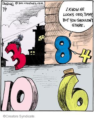 Comic Strip John Deering  Strange Brew 2011-07-09 difference