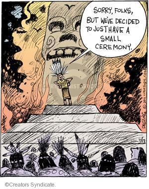 Comic Strip John Deering  Strange Brew 2011-07-13 rite