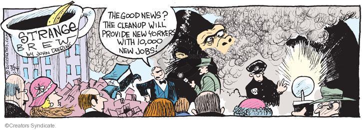 Cartoonist John Deering  Strange Brew 2011-07-24 unemployment