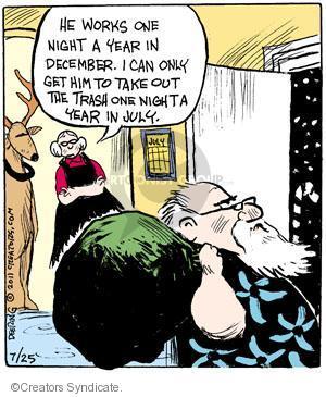 Comic Strip John Deering  Strange Brew 2011-07-25 December