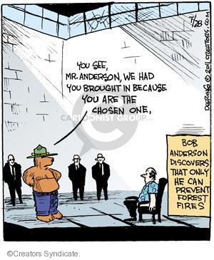Cartoonist John Deering  Strange Brew 2011-07-28 television cartoon