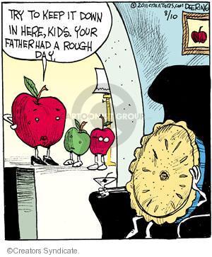 Cartoonist John Deering  Strange Brew 2011-08-10 bake