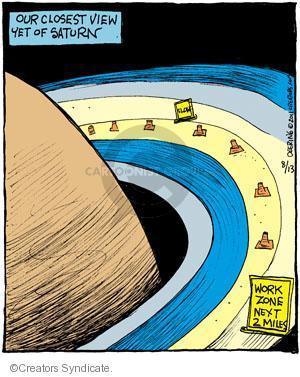 Cartoonist John Deering  Strange Brew 2011-08-13 highway
