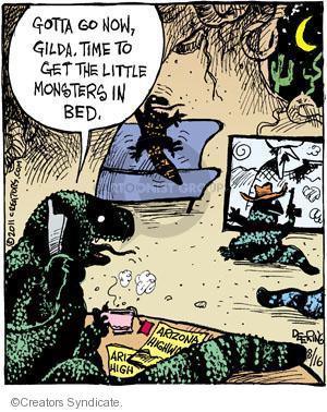 Cartoonist John Deering  Strange Brew 2011-08-16 television cartoon