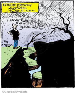 Cartoonist John Deering  Strange Brew 2011-08-25 television cartoon