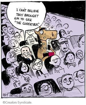 Comic Strip John Deering  Strange Brew 2011-08-29 movie violence