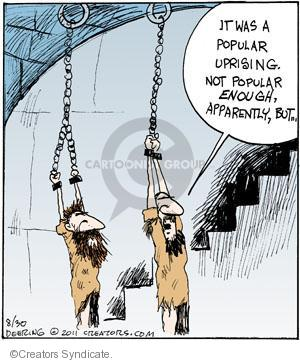 Comic Strip John Deering  Strange Brew 2011-08-30 government revolution