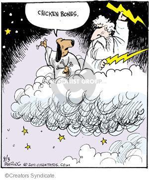 Comic Strip John Deering  Strange Brew 2011-09-03 heaven
