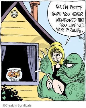 Comic Strip John Deering  Strange Brew 2011-09-06 fish