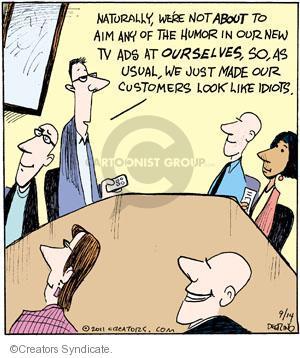 Cartoonist John Deering  Strange Brew 2011-09-14 television cartoon