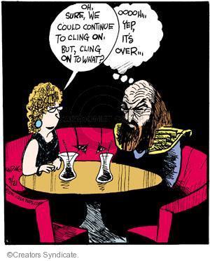 Cartoonist John Deering  Strange Brew 2011-09-21 television cartoon