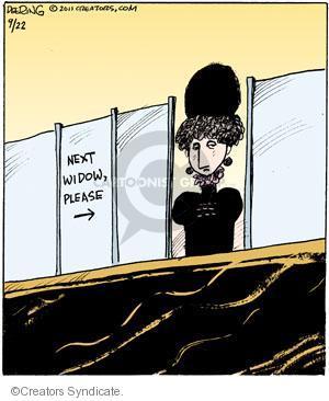 Comic Strip John Deering  Strange Brew 2011-09-22 grief