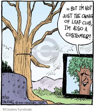Comic Strip John Deering  Strange Brew 2011-09-30 marketing