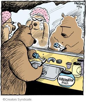 Hibernation pills.